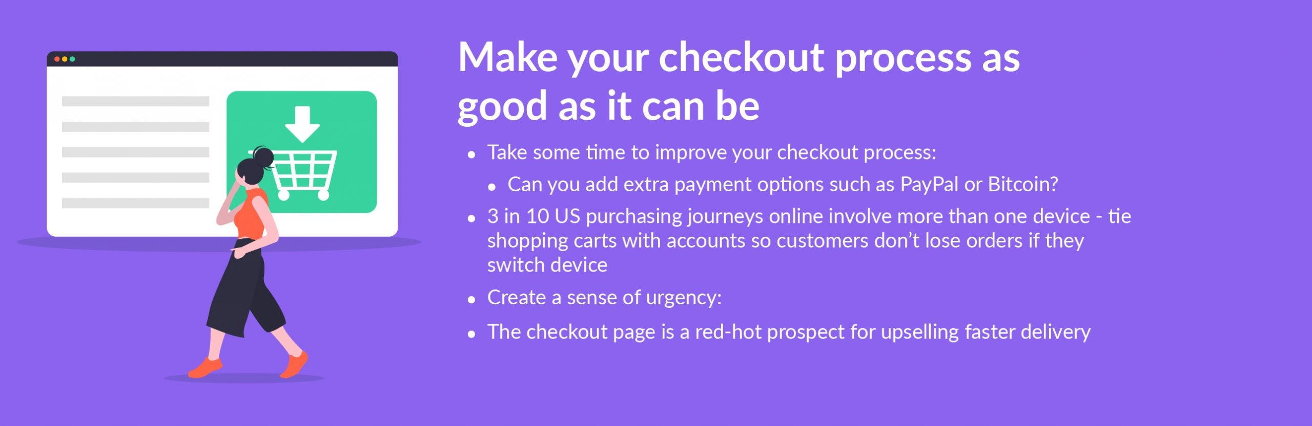 black friday tip improve checkout process