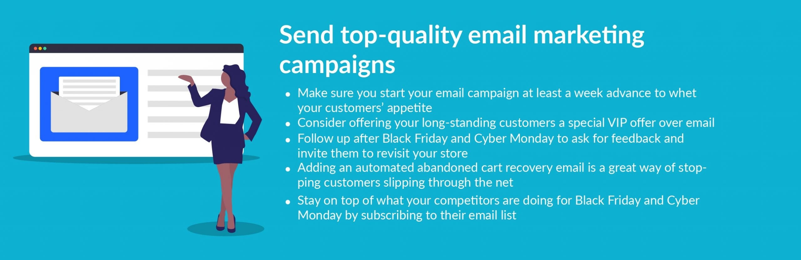 black friday tip send email campaigns