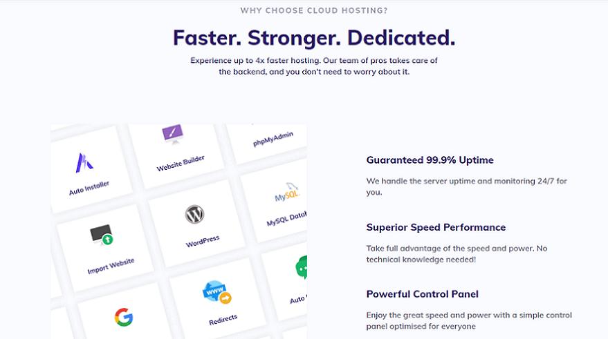 hostinger cloud plan speed