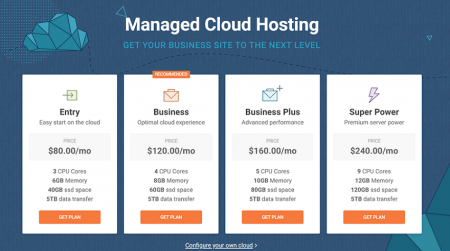 siteground cloud plans