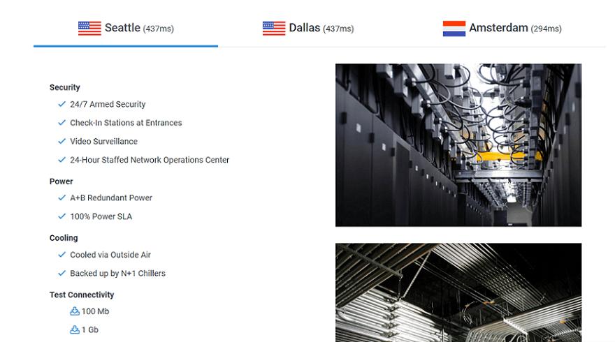 hostwinds data centers