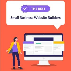 best small business website builders featured image