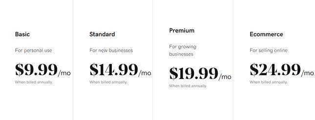 godaddy pricing plans