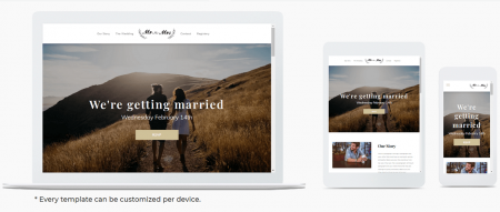 duda template preview across devices