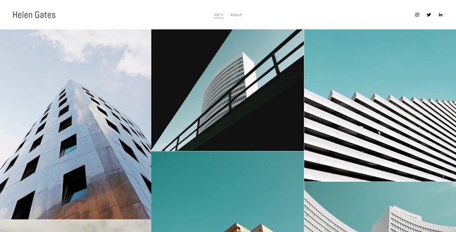 squarespace gates photography template