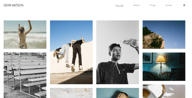 squarespace matsuya photography template