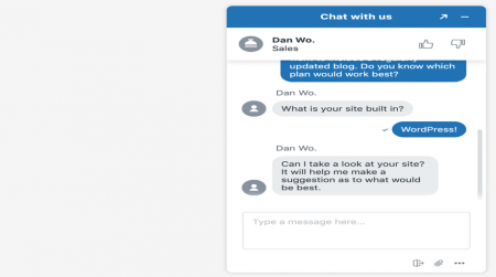 inmotion live chat support