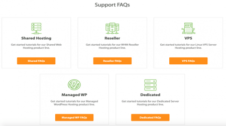 a2 hosting support options