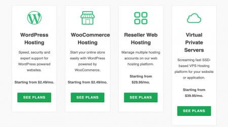 greengeeks hosting plans