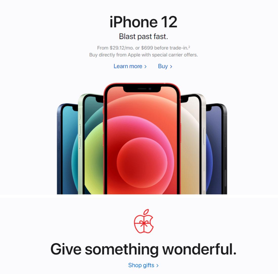 bold font design trend apple