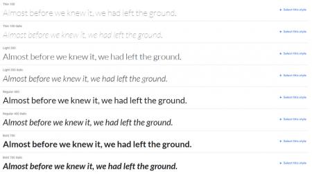 lato best website fonts