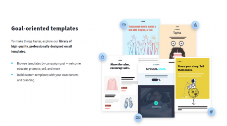get response email marketing templates