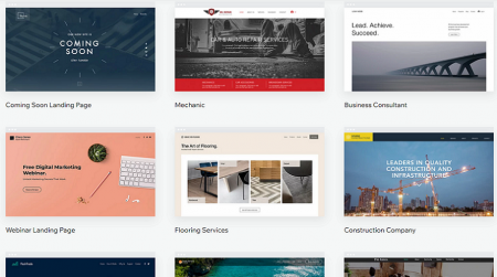 wix small business templates
