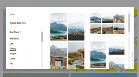 adding image galleries