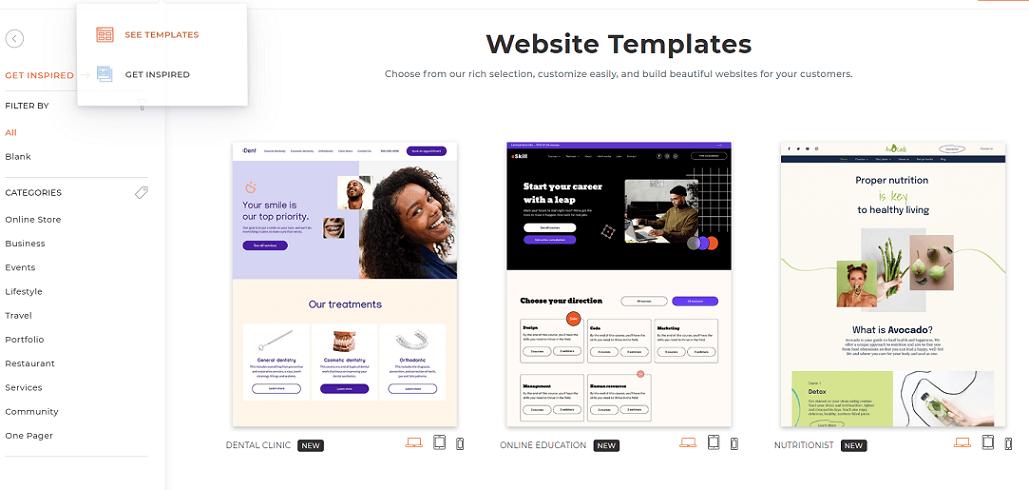 duda templates