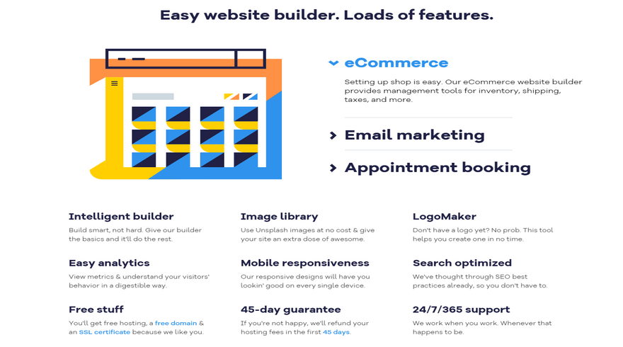 cheapest website builders gator business features