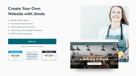 cheapest website builders jimdo blog