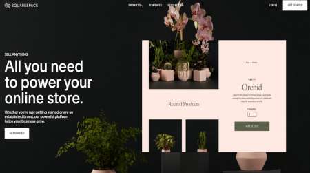 cheapest website builders squarespace ecommerce
