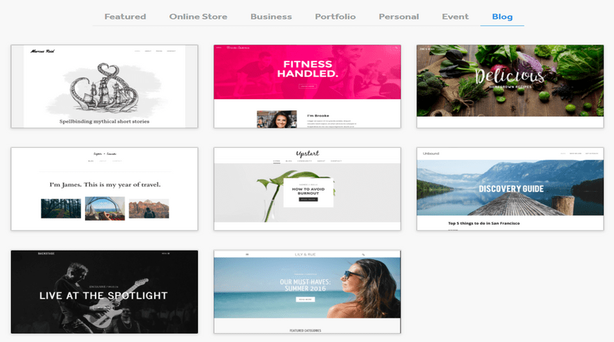 cheapest website builders weebly blog themes