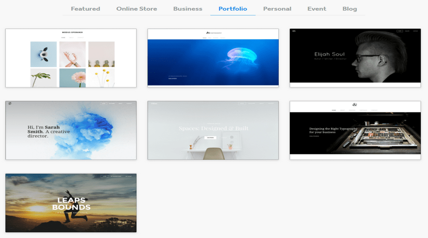 cheapest website builders weebly portfolios