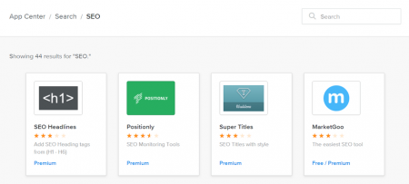 weebly app center seo apps