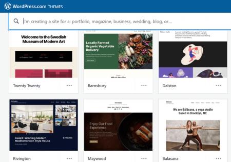 wordpress.com themes