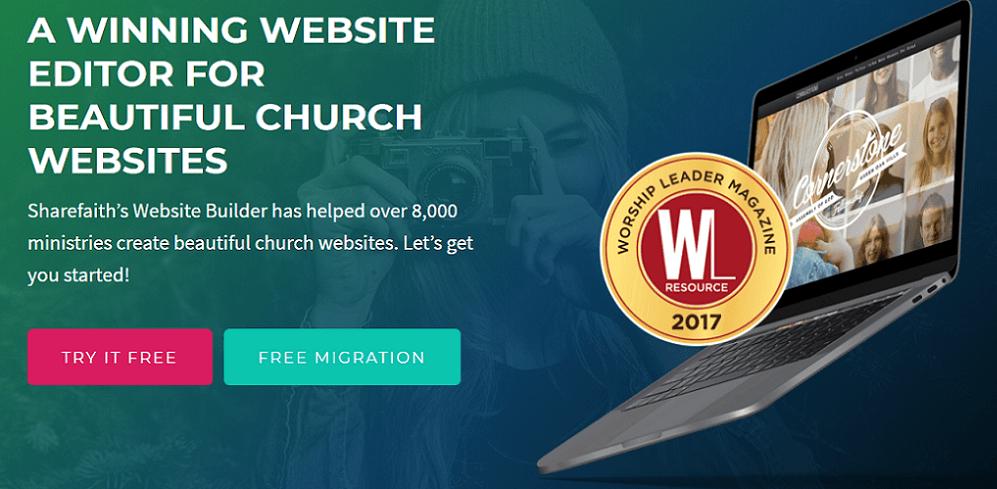 sharefaith homepage