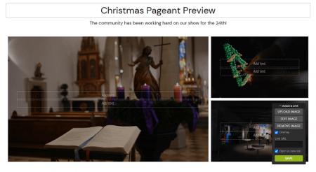 strikingly editor adding images