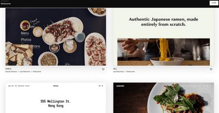 squarespace restaurant website templates