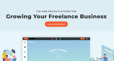 duda restaurant website builder homepage