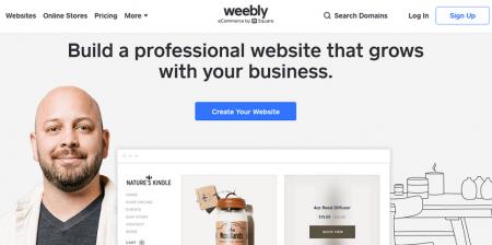 weebly restaurant website builder homepage