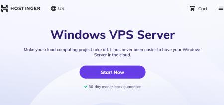 hostinger windows server hosting