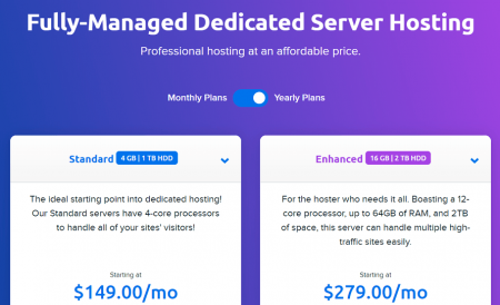 dreamhost dedicated hosting plans