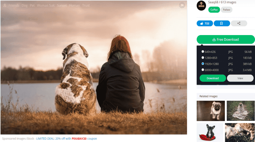 pixabay free photo download options