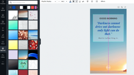 canva image editing photos for websites