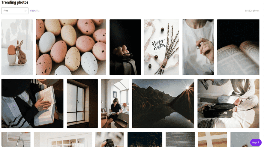 canva image library