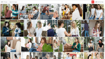 shutterstock people image search