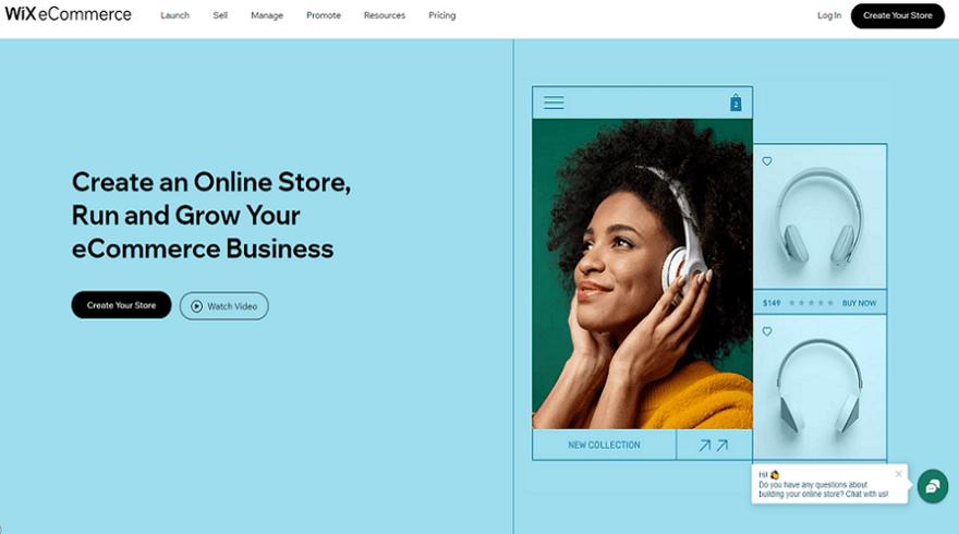 wix best ecommerce website builder