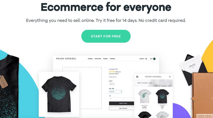 volusion ecommerce website builder homepage