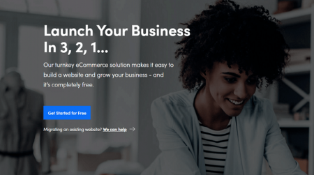 3dcart ecommerce website builder homepage