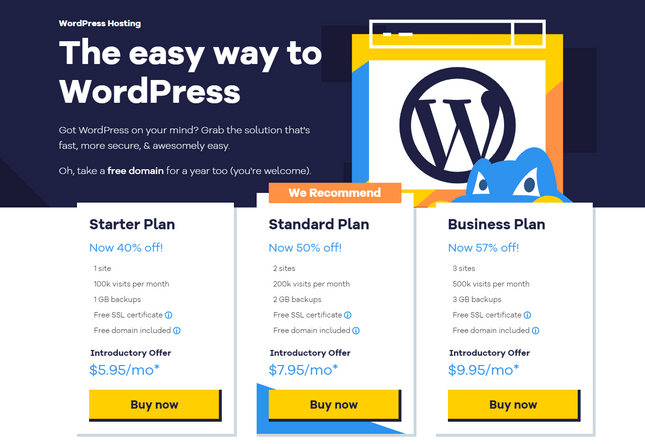 how to install wordpress with hostgator wordpress plans