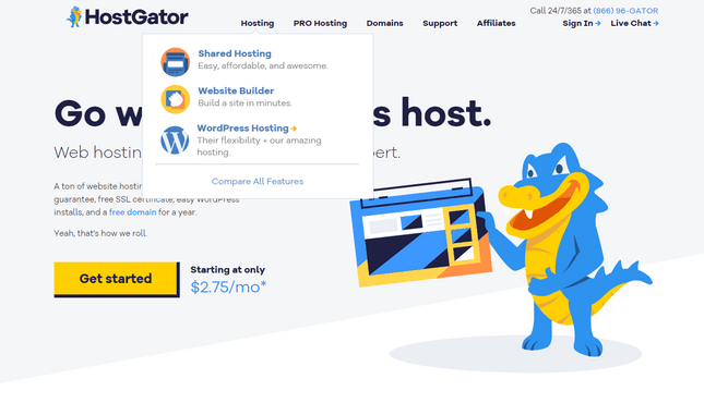 how to install worpdress with hostgator wordpress hosting