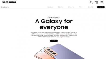 magento website example