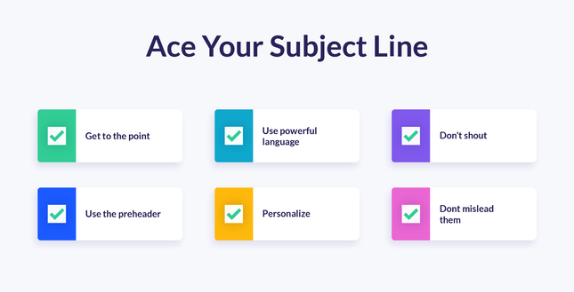 Ace-Your-Subject-Line Checklist