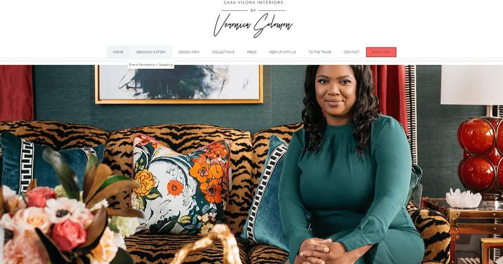 veronica solomon interior design store wix review example