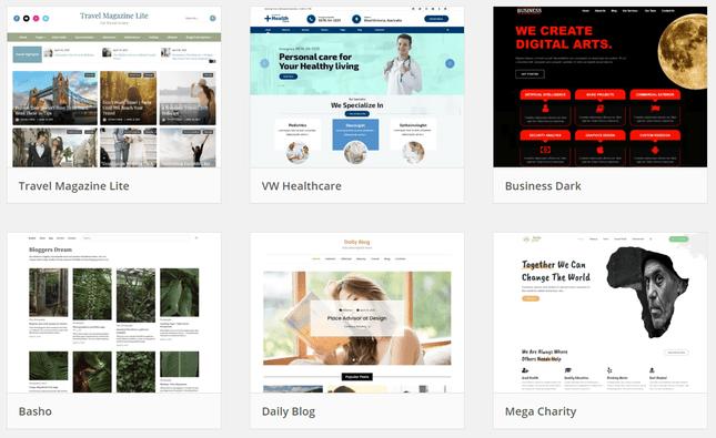 choosing a wordpress theme