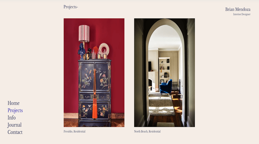 Interior Design Template 3