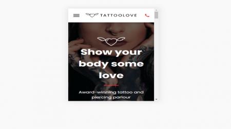 Tattoo Love Template 5