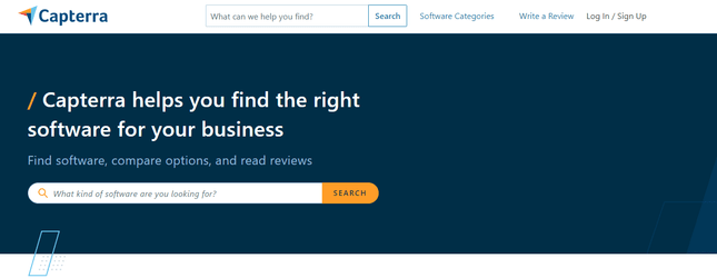 Capterra Review Example