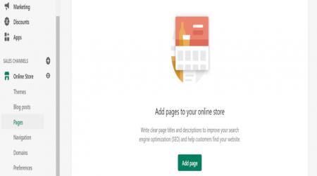 Theme Customization Add Pages